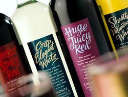 Tesco wine range