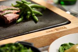 Bar & block Grill menu / Ad