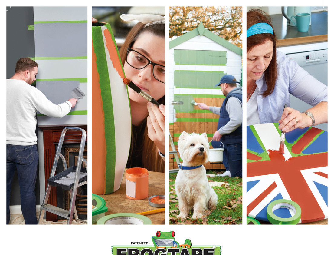 Frogtape Your Home ad