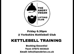 The Angry Vegan - Kettlebell Training