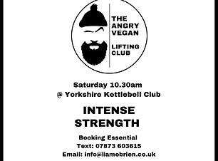The Angry Vegan - Intense Strength