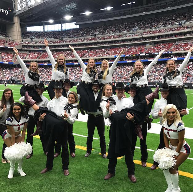 Houston Texans Halftime Performance