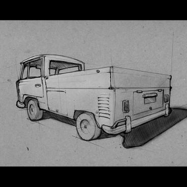 My 1968 VW transporter
