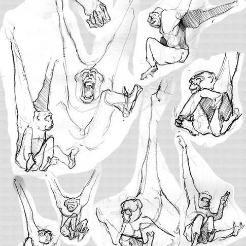 Drawing at LA Zoo