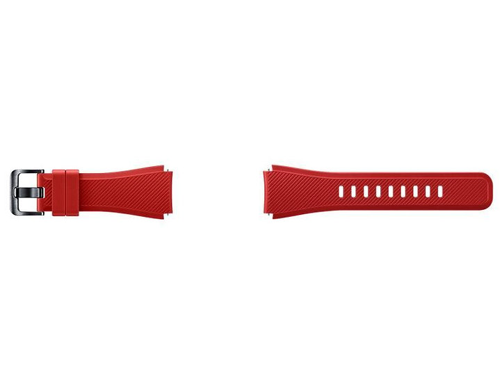 Samsung Active Silicone Band for Gear S3 (Orange Red)