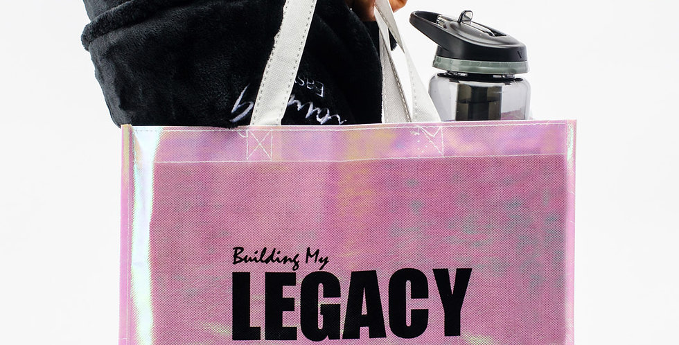 """""""Building My Legacy"""" Non-Woven Mini Shopper Tote"""