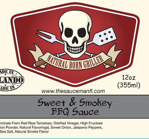 Sweet & Smokey 12 oz