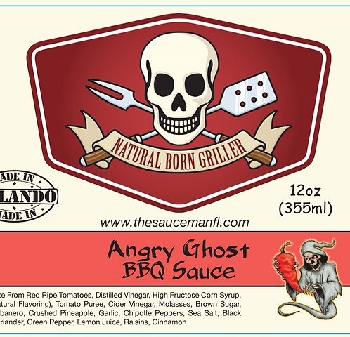 Angry Ghost BBQ 12 oz
