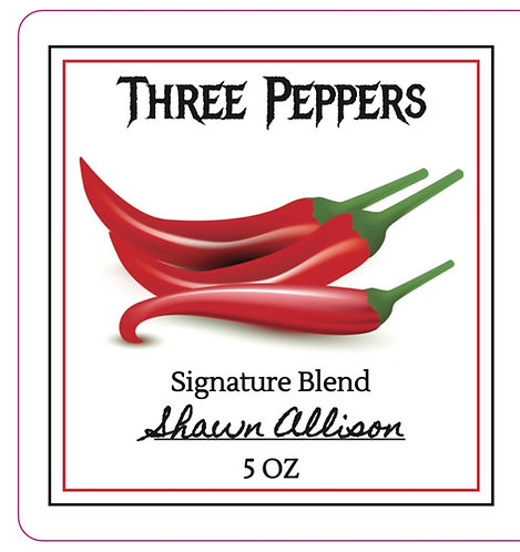 Three Peppers Hot Sauce