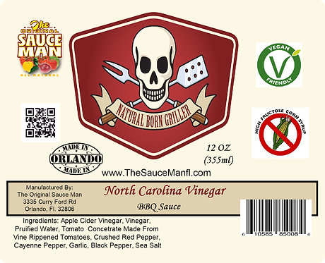 North Carolina Vinegar 12 oz