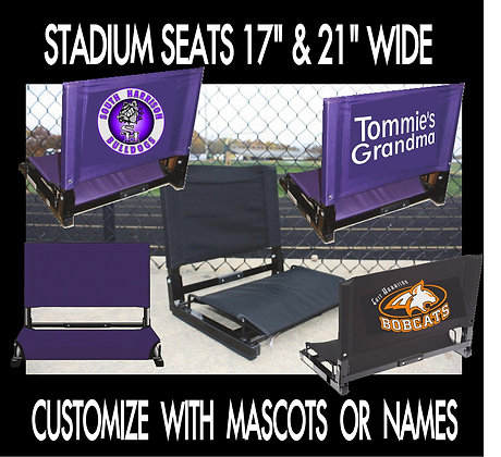 """Stadium Chair 21"""" wide"""