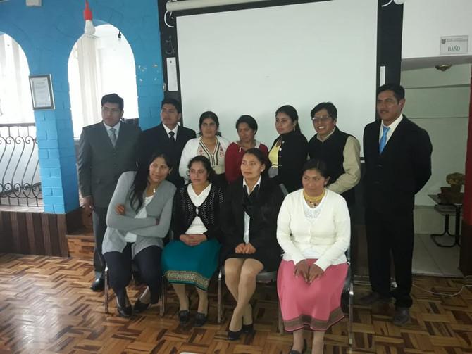 Examen complexivo alumnos comunidad de Oyacachi