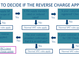 FLOW CHARTS TO EXPLAIN THE VAT REVERSE CHARGE