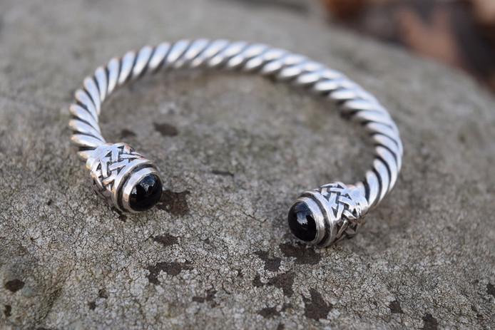 Celtic Braid Silver Bracelet