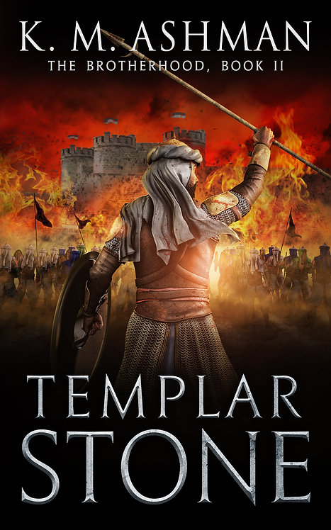 Templar Stone. Signed Paperback