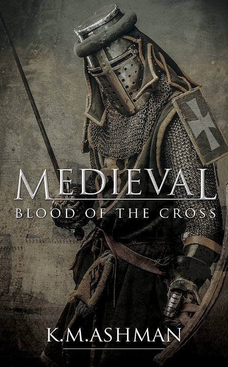 Medieval - Blood of the Cross. Signed Paperback