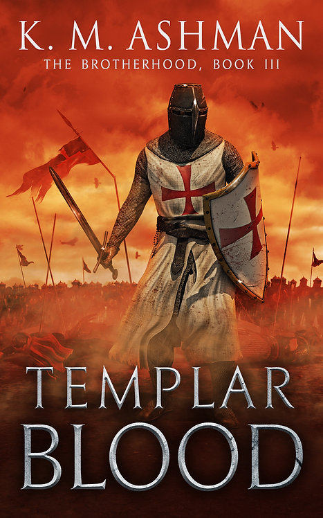 Templar Blood. Signed Paperback