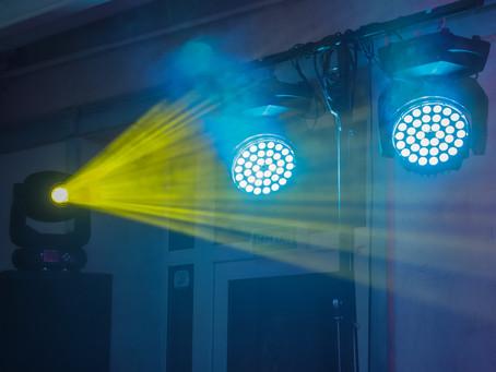 Фото отчет: свет, звук и видео оборудование в банкетном зале