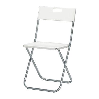 Аренда стул белый складной