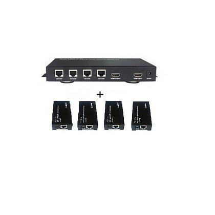 Усилитель-распределитель HDMI 1х4