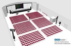3D визуализация площадки