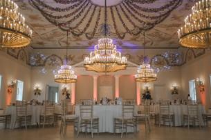 Гала ужин в Розовом павильоне