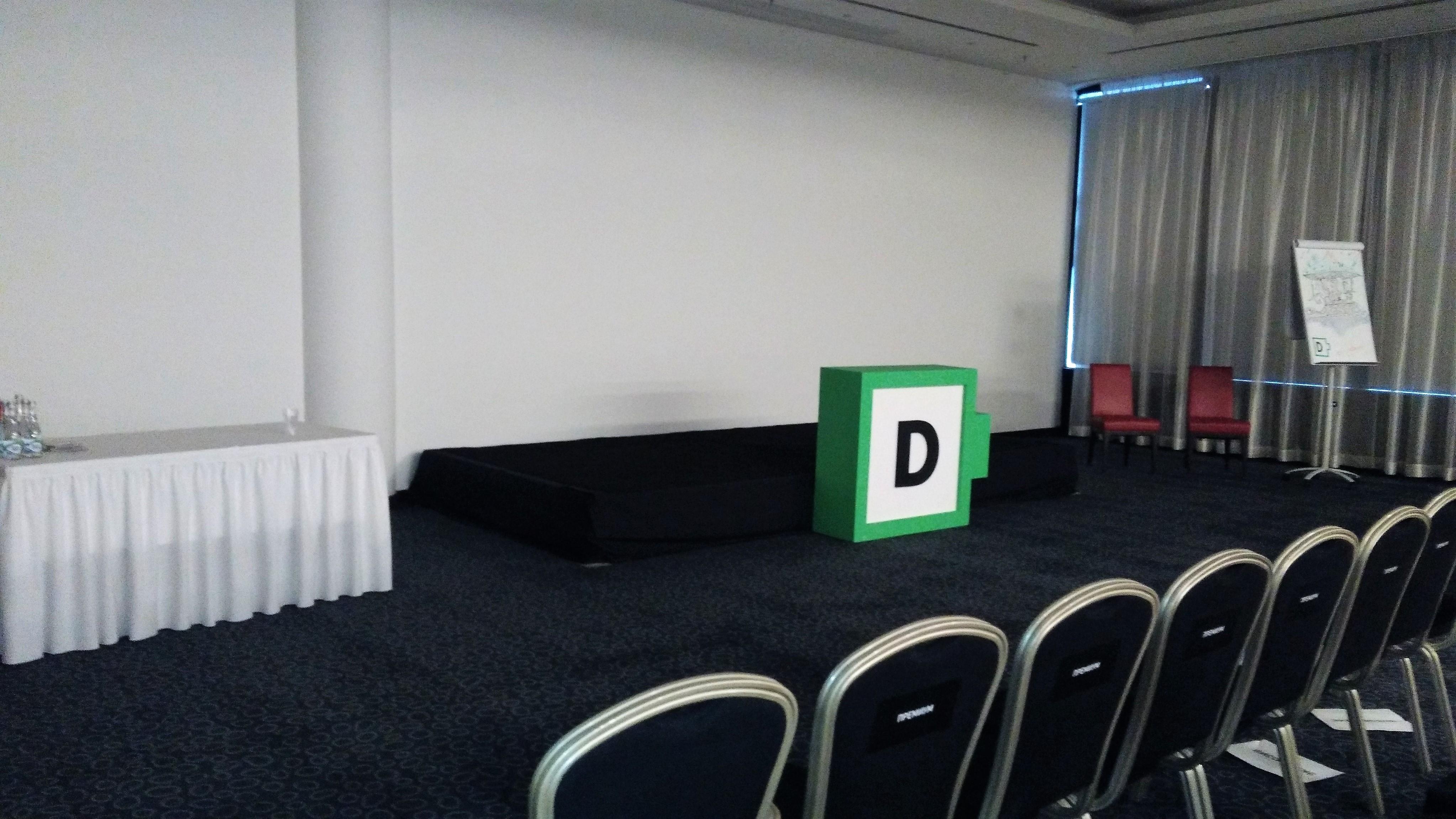Аренда подиума конференция Digitale 2017