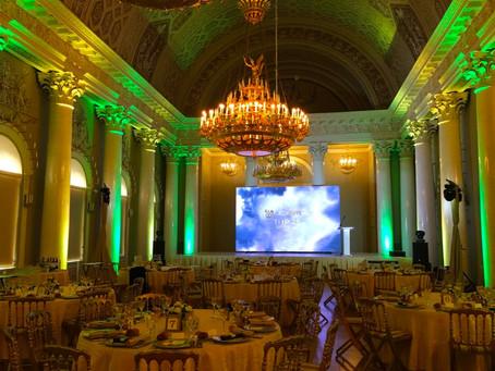 Церемония награждения в Юсуповском Дворце