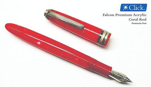 Falcon Coral Red Premium Acrylic