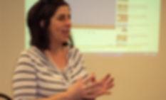 Christine Warda facilitating