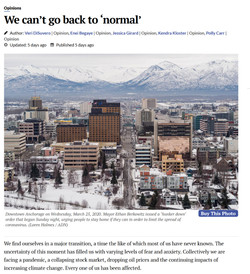 Anchorage Can't Go Back to Normal