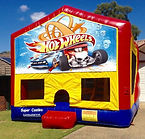 Hot Wheels Jumping castle brisbane,jumping castles ipswich, goldcoast jumping castle, jumping castle hire brisbane, cheap jumping castles brisbane, bouncy castles brisbane