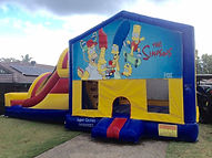 The Simpsons Jumping Castle brisbane Jumping castle Ipswich , Jumping Castle Gold Coast, Bouncy castle brisbane, Bouncy Castle Ipswich, Bouncy Castle Gold Coast, Jumping castle Hire Brisbane, Jumping Castle Hire Ipswich