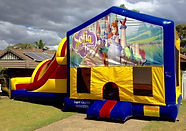 sofia the 1st jumping Castle hire Brisbane Ipswich Gold Coast Jumping Castle