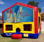 Simpsons Jumping Castle Jumping castle Ipswich , Jumping Castle Gold Coast, Bouncy castle brisbane, Bouncy Castle Ipswich, Bouncy Castle Gold Coast, Jumping castle Hire Brisbane, Jumping Castle Hire Ipswich