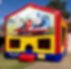 Thomas Jumping castle brisbane,jumping castles ipswich, goldcoast jumping castle, jumping castle hire brisbane, cheap jumping castles brisbane, bouncy castles brisbane