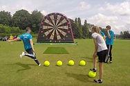 Foot Darts Hire Brisbane, Soccer Darts hire brisbane, inflatable amusements hire gold coast, ipswich amusements, casper castles, jolly jumps, jumpin jjs, foot darts ipswich, foo darts gold coast,