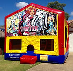 Monster High Jumping Castle Gold Coast