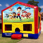 Paw Patrol Jumping Castle hire Central Coast, Jumping Castle hire Newcastle, Jumping Castle hire Woy Woy, Jumping Castle hire North Sydney, Jumping castle hire hills district, Jumping castle hire