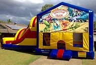 Dinosaur train Jumping Castle brisbane Jumping castle Ipswich , Jumping Castle Gold Coast, Bouncy castle brisbane, Bouncy Castle Ipswich, Bouncy Castle Gold Coast, Jumping castle Hire Brisbane, Jumping Castle Hire Ipswich