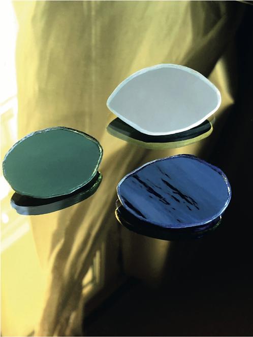 Mirror brooch