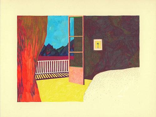 La Chambre Au Palmier Painting