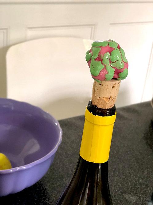 Bubble wine cork