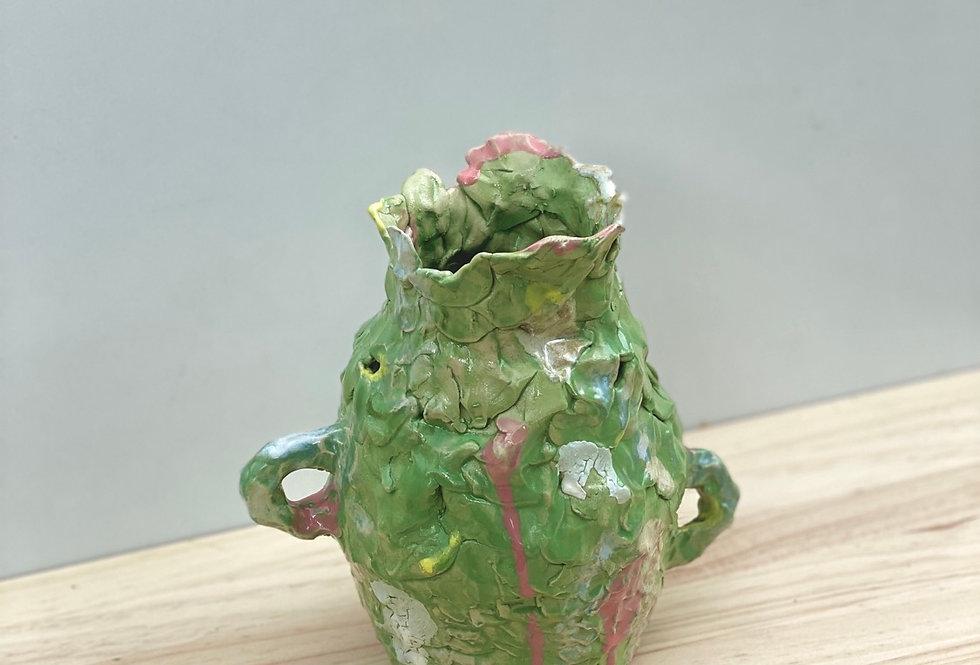 Impermanent Vase Green