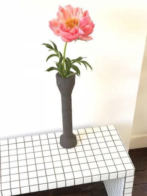 Black Top Vase