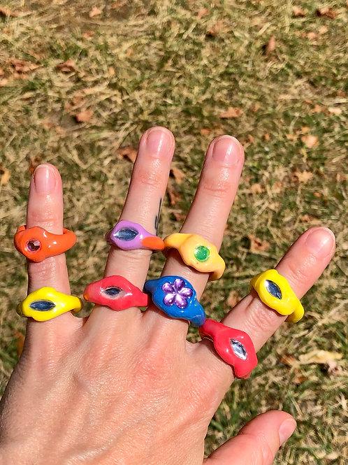 Blobb rings