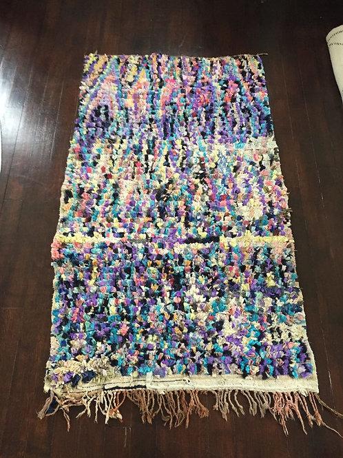 Moroccan Boucharouite Rug