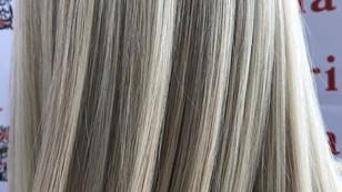 Окрашивание в Троицке холодный русый блонд