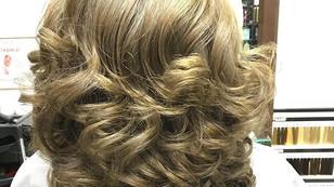 Окрашивание и укладка волос