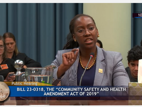 Testimony in Opposition to Decriminalizing Prostitution in DC